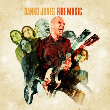 Danko Jones - Fire Music LP (lim. Gold Vinyl)