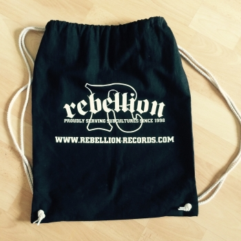 Rebellion Logo - Turnbeutel