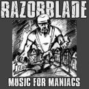Razorblade - Music for Maniacs CD